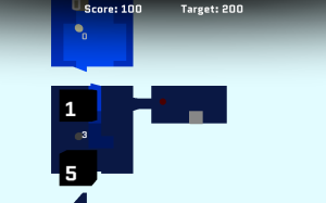 Screenshot of the burglary mode in the game Fuse-Breaker.