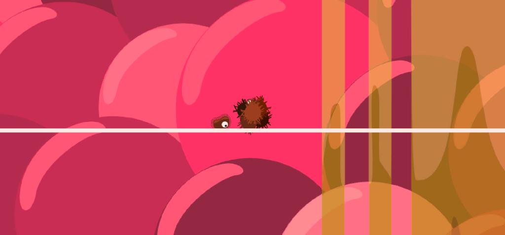 Screenshot of my arbitrary gamejam game