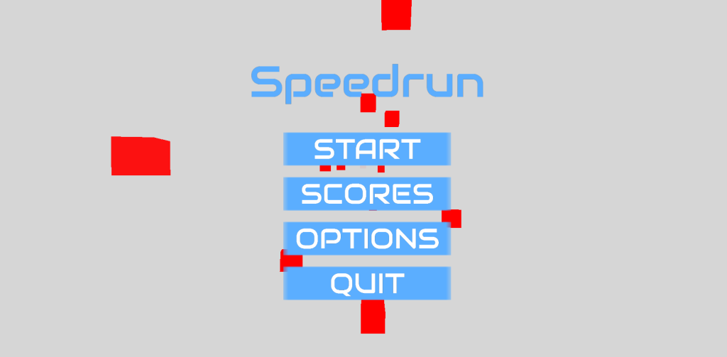 Speedrun Menu