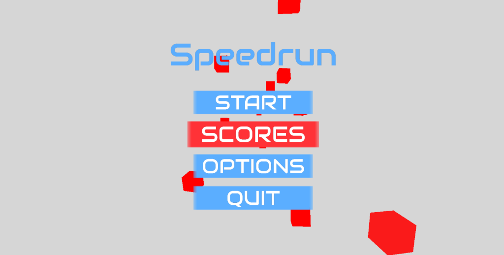 Speedrun Menu Hover Colour