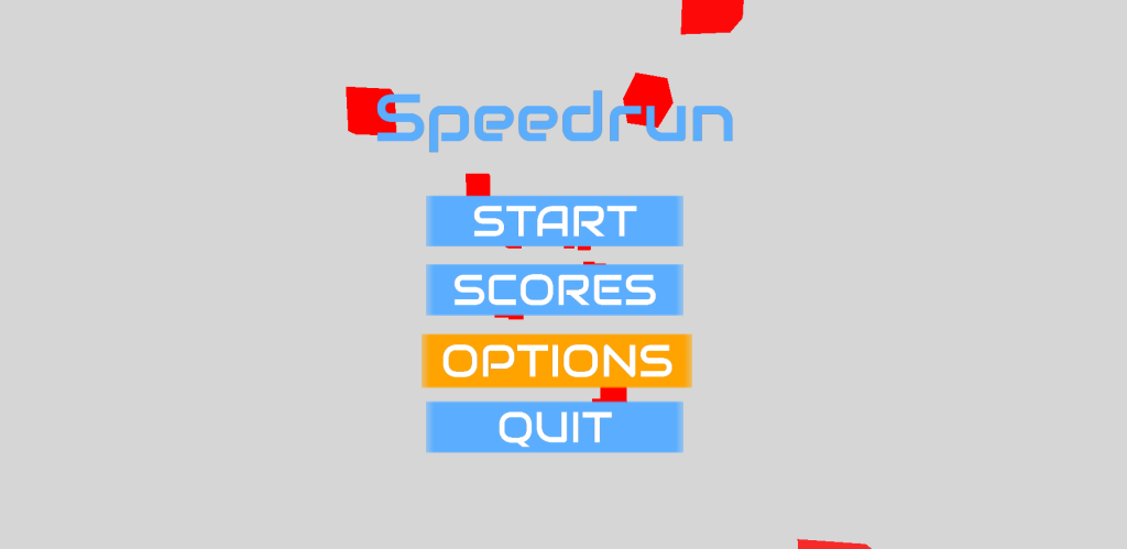 Speedrun Menu Click Colour