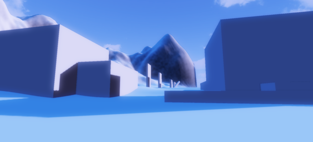 The effect of ambient occlusion shader