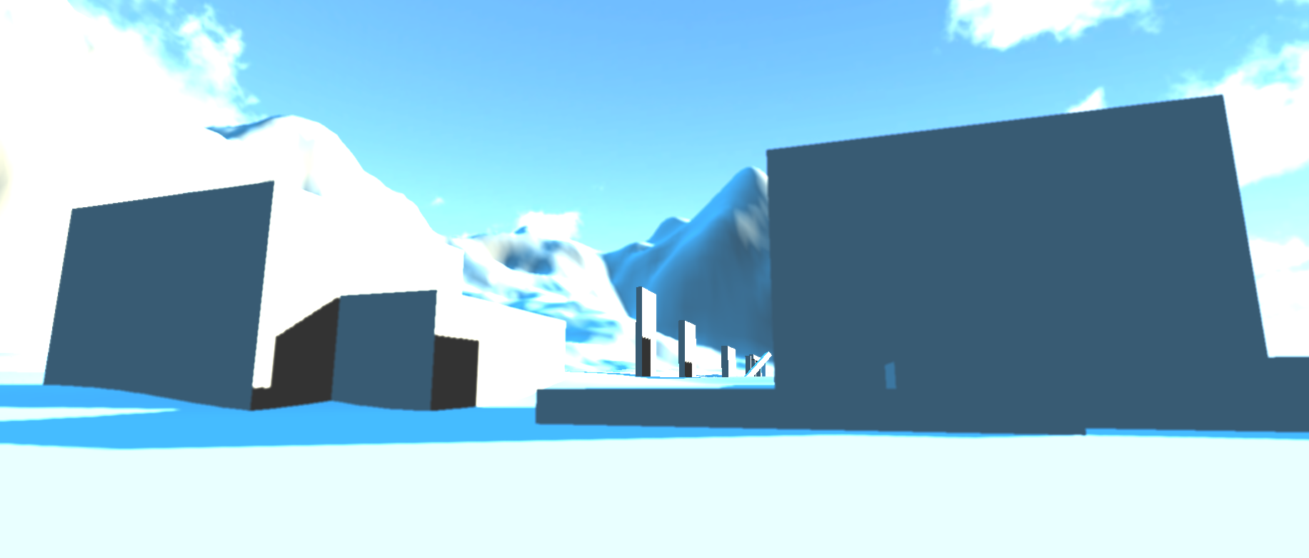 Dreamlike scenes using Unity Pro shaders