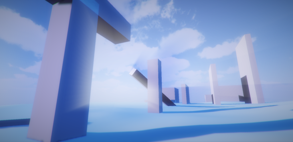 effect of the sun shafts shader